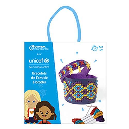 Avenue Mandarine–Collection UNICEF, Pulsera de Broder, co192C, Sujetadores