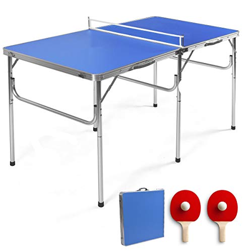 "Cheapest Price! Granatan 60"" Portable Tennis Table - Compact Tennis Set - Folding Tennis Table - T..."