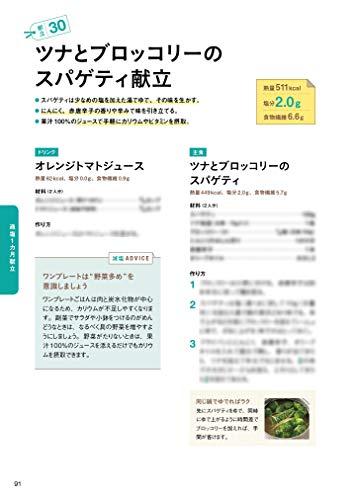 オレンジページ『おとなの健康レシピ高血圧の献立』