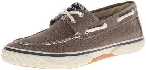 Sperry Top-Sider Men's Halyard 2-Eye Lace-Up,Chocolate/Honey,11.5 M US