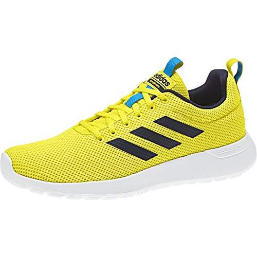 adidas Lite Racer CLN, Zapatillas de Entrenamiento para Hombre, Amarillo (Shoyel/Legink/Brblue Shoyel/Legink/Brblue), 47 1/3 EU