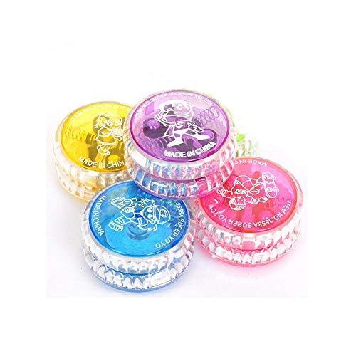 YoYo Ball, 1Pc Divertido Luminoso LED Intermitente Yoyo Ball Coordinación Mano-Ojo Juguete de Desarrollo de Juguete Yo-Yo para niños
