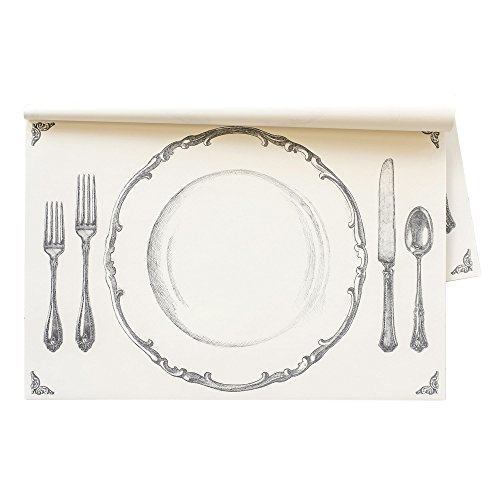 Hester & Cook Perfect Setting Paper Placemat, 24 Sheets American Made