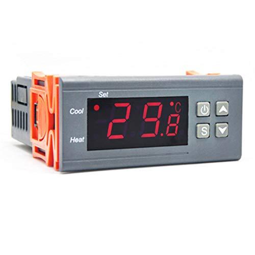 YEZIO Calentador de Mascotas Enfriar 10a Calor Brooding eclosión del regulador Digital termostato regulador de Temperatura for Incubadora de Laboratorio