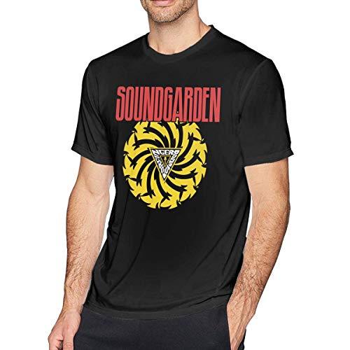 Camisetas de Manga Corta para Exteriores Soundgarden L de Hombre