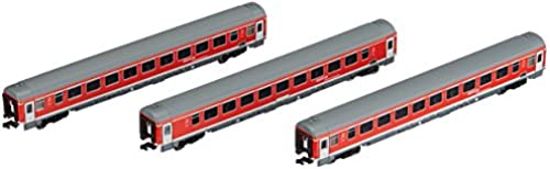 Arnold HN4203 3-teilig Set München-Nürnberg-Express der DB AG, Epoche VI Modellbahn, Verkehrsrot