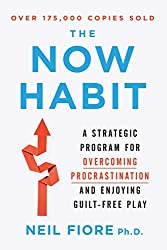 The Now Habit: A Strategic Program for Overcoming Procrastination and Enjoying Guilt-Free Play by Neil Fiore, Ph.D