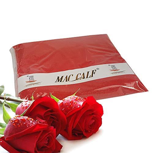 MAC CALF 1 kg Sabbia Colorata 04 – 07 Millimetri Colore Rossa