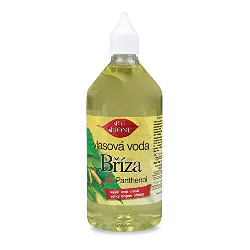 BIONE Bio Kräuter Haarwasser/Haar Tonic mit Birken-Extrakte & Panthenol ohne Mineralöl, Silikone, Parabene - 215 ml!