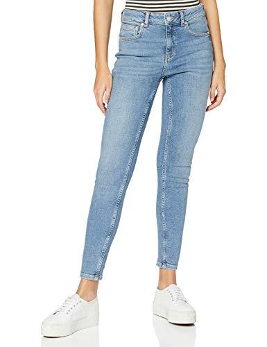 Superdry Damen Rise Skinny Jeans, Blau (Mid Indigo Aged O9O), 26W / 30L
