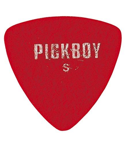 PICKBOY ウクレレピックUSパッケージ(5枚入り) Softトライアングルレッド GP-11/S