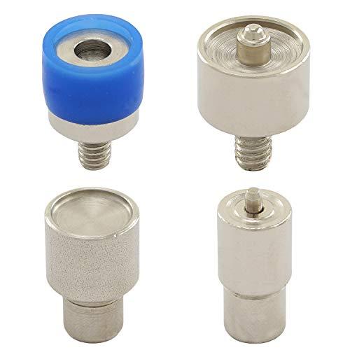 GETMORE Parts Werkzeug M6, Presswerkzeug für Druckknöpfe, Druckknopfwerkzeug für Hebel- und Spindelpressen mit M6-Gewinde (S-Feder, 15 mm)