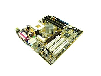 Asus Computer MATX MBD NFORCE-2 SA-400FSB VID 8XAGP ETH AUD  A7N8X-VM/400