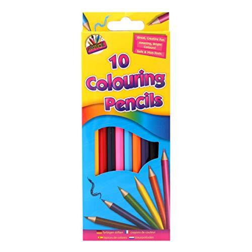 Artbox 5120 - Matite a colori a grandezza naturale (confezione da 10)