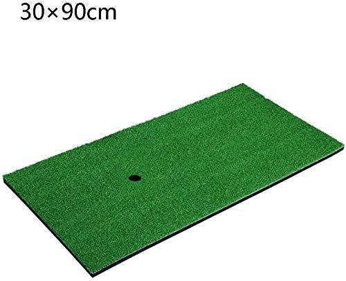 Golf Slaan Mat, Multi-Club Champion Driver - Strijkijzer - Fairway Wood Golf Mats - Veelzijdig Multi-Club Gebruik - Inclusief verstelbare Hout Tee Plug Rubber T-stukken for je drivers, 30times; 90cm g