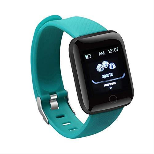 kkart Smart Fitness Tracker Orologio Bond Touch Sport Bluetooth Bracciale USB Direct Charge Smartwatch Intelligente per Uomo Donna Verde