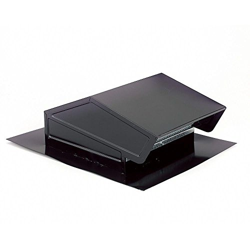 Broan-NuTone 634M Steel Roof Cap for 6″ Round Duct, For Range Hoods, LoSone Fans, and Bath Ventilation Fans, Black