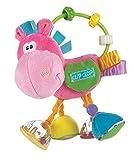 Playgro Hochet Multi-activités Âne, À partir de 3 Mois, Sans BPA, Playgro Toy Box Pferd Clip Clop, Rose/Multicolore, 40143