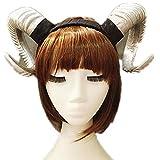 Gothic Gold/Silver Sheep Horn Headband...