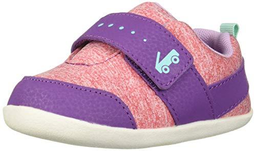 See Kai Run Girls' Ryder INF First Walker Shoe, Purple, 4 M US Infant