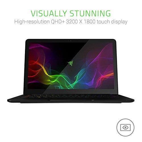 Razer Blade Stealth 33,7 cm (13,3 Zoll QHD+Touch) Ultrabook (Intel Core i7-8550U, 16GB RAM, 256GB SSD, Windows 10) schwarz