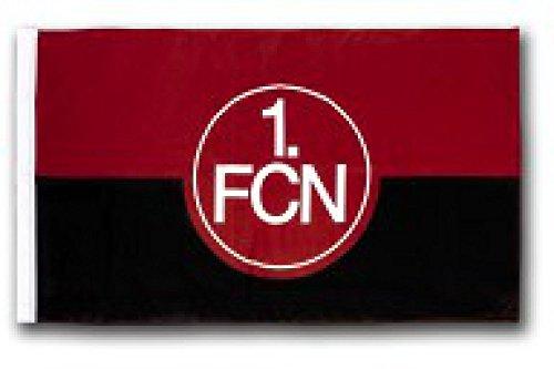 Flaggenfritze Flagge 1. FC Nürnberg Logo - 60 x 90 cm + gratis Aufkleber
