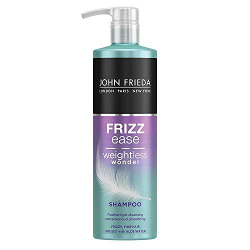 John Frieda Frizz Ease Weightless Wonder Shampoo für krauses, feines Haar, 500 ml