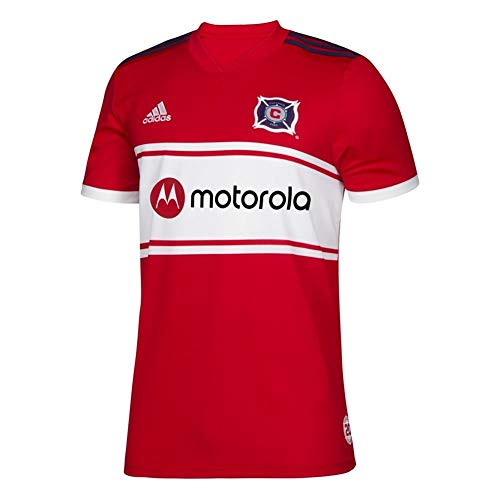 adidas Men's Chicago Fire Replica Jersey 2019 Home Kit (XXX-Large)
