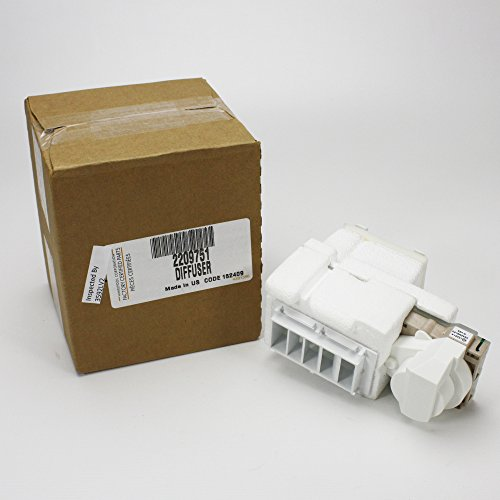 Whirlpool 2209751 Whrilpool Damper Control Assembly, 6x6x6, White