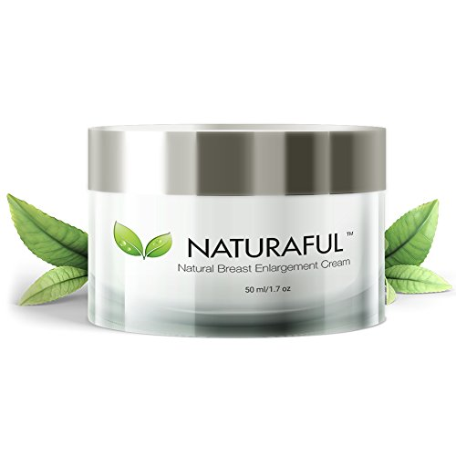 NATURAFUL - (1 JAR) TOP RATED Breast Enhancement Cream - Natural Breast Enlargement, Firming and Lifting Cream | Trusted by Over 100,000 Users & Includes Handbook | $94 Value Bundle