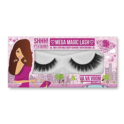 MEGA MAGIC LASH 3D Luxury Edition Bandwimpern VA VA VOOM von CCL BEAUTY Handarbeit, Seide, Wiederverwendbar bis 20 Mal, Vegan