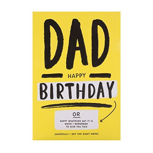 Verjaardagskaart voor papa van Hallmark - Hedendaagse Humour Design