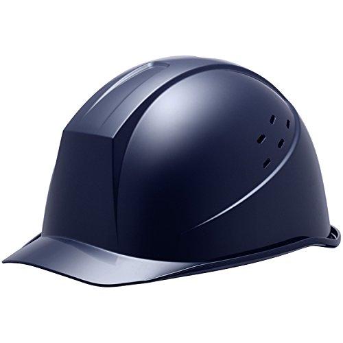 ミドリ安全 ヘルメット 通気孔付 SC11BV RA α ネイビー