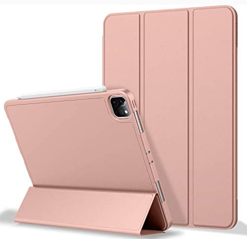 ZryXal iPad Pro 12 9 Case 2020 with Pencil Holder 4th Generation Premium Protective Case Cover product image