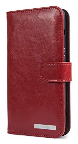 Doro Wallet case - Flip-Hülle für Mobiltelefon - Rot, 380236