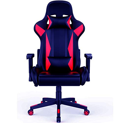 SMUGDESK Gaming Chair Computer Desk Office Chair Armrest Adjustable with Removable Lumbar and...