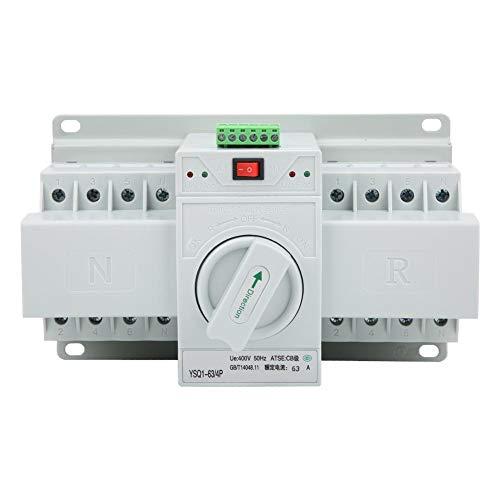 Automatischer Umschalter Smart Dualer Feuerschalter Mini Intelligenter Dual Power Toggle63A/4P für Aufzüge