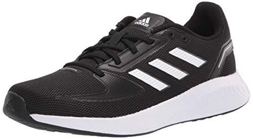 adidas Women's Runfalcon 2.0 Running Shoe, Black/White/Grey, 6