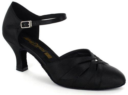 Alma Danza (X3 Series) A783001/A783002 - Lateinamerikanischer Tanz, Sandale A783001/A783002 Damen, Schwarz (schwarz), 39.5 B(M) EU