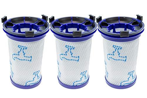 3 filtros compatibles con Rowenta Air Force 360 / X-Pert Essential 260 RH9037 RH9038 RH9039 RH9051 RH9057 RH9059 RH9079 RH9081 RH9086 RH9089. Aspiradora idéntica ZR0 09001 (15416).