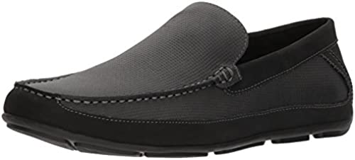 Unlisted by Kenneth Cole Men& 039;s Eckert Driver B Driving Style Loafer, schwarz, 11 M US