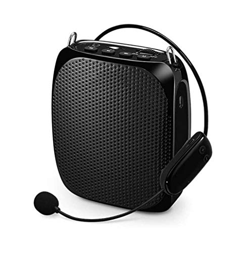 ZOUSHUAIDEDIAN Amplificador de la Voz de micrófono inalámbrico, el Amplificador Audio de Voz, con Cintura for Profesores, Servicios de Viaje, Coache