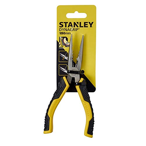 Stanley STHT0-74363 Pinza Becchi Lunghi Control Grip, 150 mm