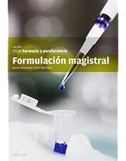Formulación magistral (CFGM FARMACIA Y PARAFARMACIA)