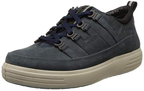 Woodland Men's 3313119 DNAVY 4 Leather Sneaker-9 UK (43 EU) (10 US) (OGC 3313119DNAVY 4)