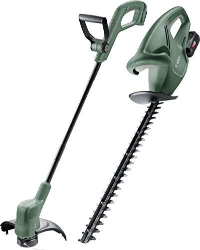 Bosch Home and Garden heggenschaar EasyHedge 18-45 + EasyGrassCut 18 Baretoool 061599261P, draadloos, 18 V, Li-Ion, 1 stuk