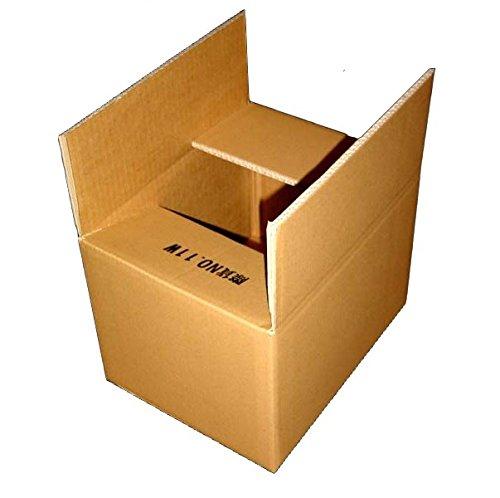 80サイズ ダブルダンボールケース12W×1枚 270mm×200mm×200mm 7mm厚 海外発送や重梱包に最適です
