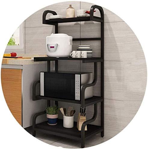 MISLD 4 Cocina Rejilla del Horno de microondas Rejilla, Especias Estante de usos múltiples,VS