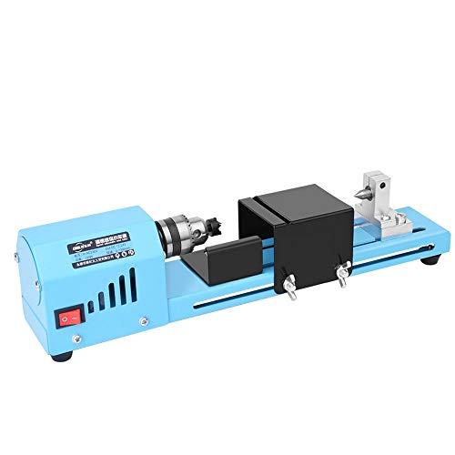Review Of Laecabv Mini Wood Lathes 150W Power Beads Lathes CNC Polisher Machine for DIY Grinding Dri...