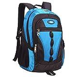 Fanspack Schulrucksack Jungen Teenager Schultasche 15.6 Zoll Laptop Zainetto Zaino Große Kapazität Business Zaino Reiserucksack für Jungen Mädchen Kinder